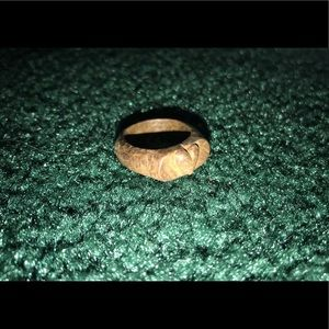 💍🤎Wooden heart ring